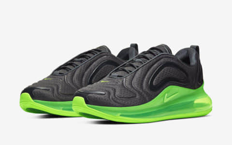 荧光绿可视气垫!简直骚气十足!Nike Air Max 720新配色来袭! 货号:AO2924-018