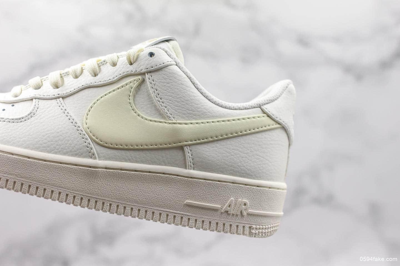 耐克Nike Air Force 1海外专柜同步上新公司级版本顶级原厂头层皮料原鞋开发空军一号休闲板鞋