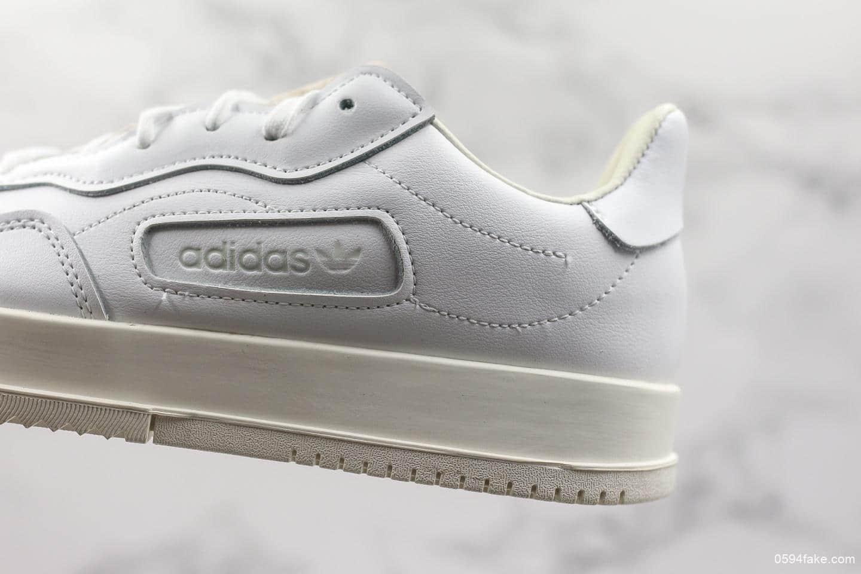 阿迪达斯Adidas SC Premier公司级真标版本海外限定发售款低帮休闲板鞋官方原盒中文标 货号:BD7583