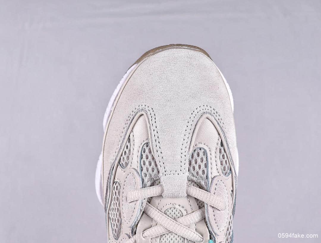 阿迪达斯adidas Yeezy 500纯原版本海外发售款复古缓震老爹鞋内置adiprene+减震科技侃爷全新椰子500 货号:DB2902