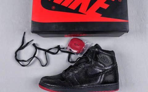 乔丹Shoepalace x Jordan SP Gina联名款AJ1黑珍珠纯原版本原厂原材料原厂定型机百分百还原鞋型细节皮质对版数次实战篮球鞋 货号:CD7071-001