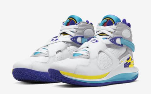 "Nike Court Zoom Zero Jordan 8""White Aqua""官图释出!看完更心动! 货号:CQ4481-100"
