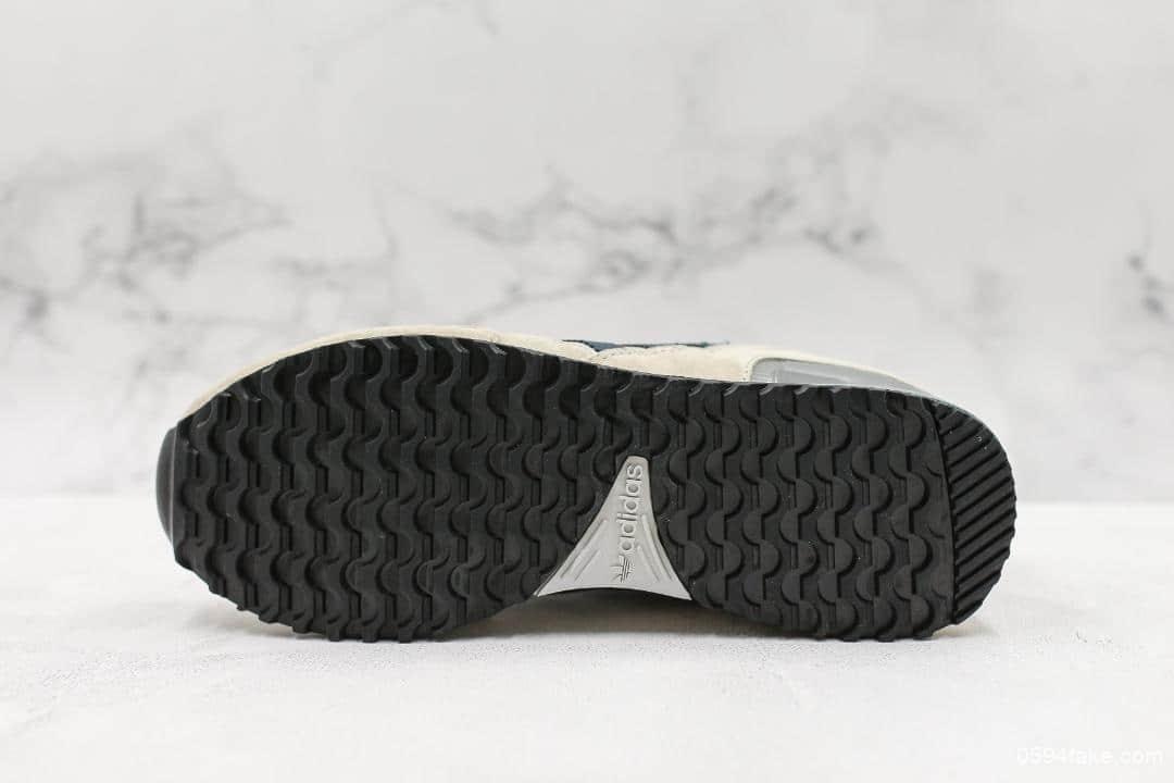 阿迪达斯Adidas Originals ZX750公司级版本阿迪达斯三叶草经典复古校园系列原标半码专柜同步国内标原盒