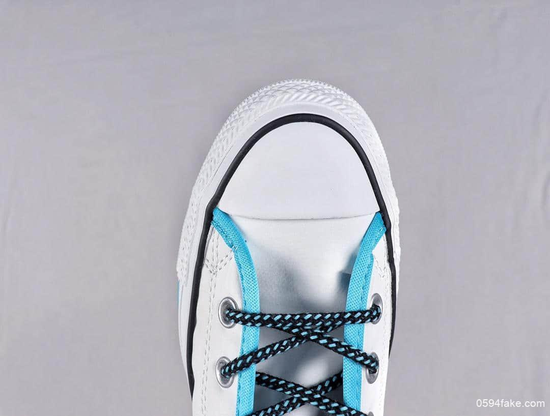 匡威Converse Chuck Taylor AII Star真标高品质撞色休闲高帮帆布鞋潮人必备单品原档案数据开发