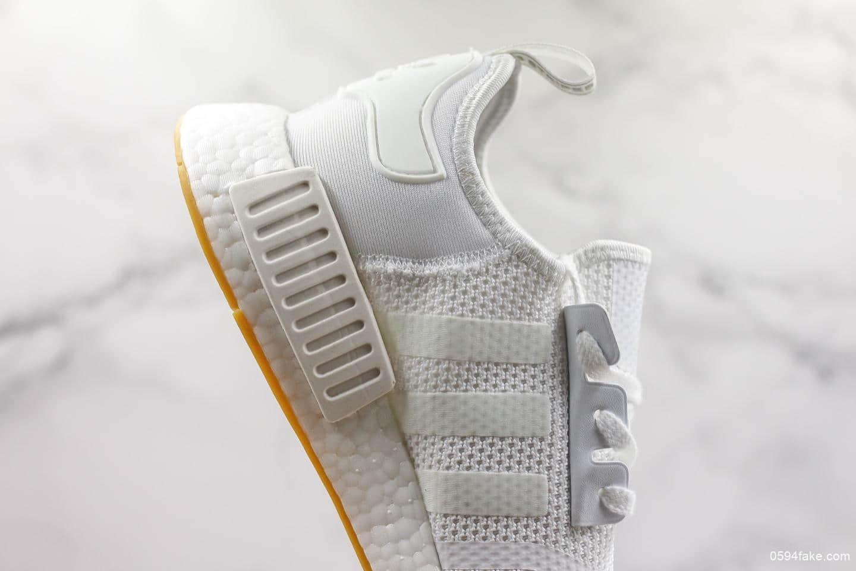 阿迪达斯Adidas originals NMD_R1公司级版本真爆米花颗粒大底原厂织面时尚休闲运动鞋 货号:D96635