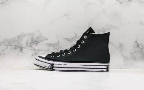 匡威Converse x Joshua Vides二次元手绘DIY真标高品质个性十足随意组合搭配魔术贴鞋面
