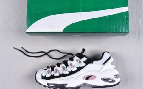彪马Puma CELL Endura Wns White Pink纯原版本复刻气垫老爹风休闲运动慢跑鞋白黑浅粉 货号:369357-05