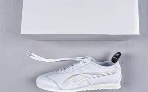 纪梵希联名鬼冢虎Nippon Made Mexico 66 GDX纯原版本刺绣LOGO皮面休闲帆布鞋