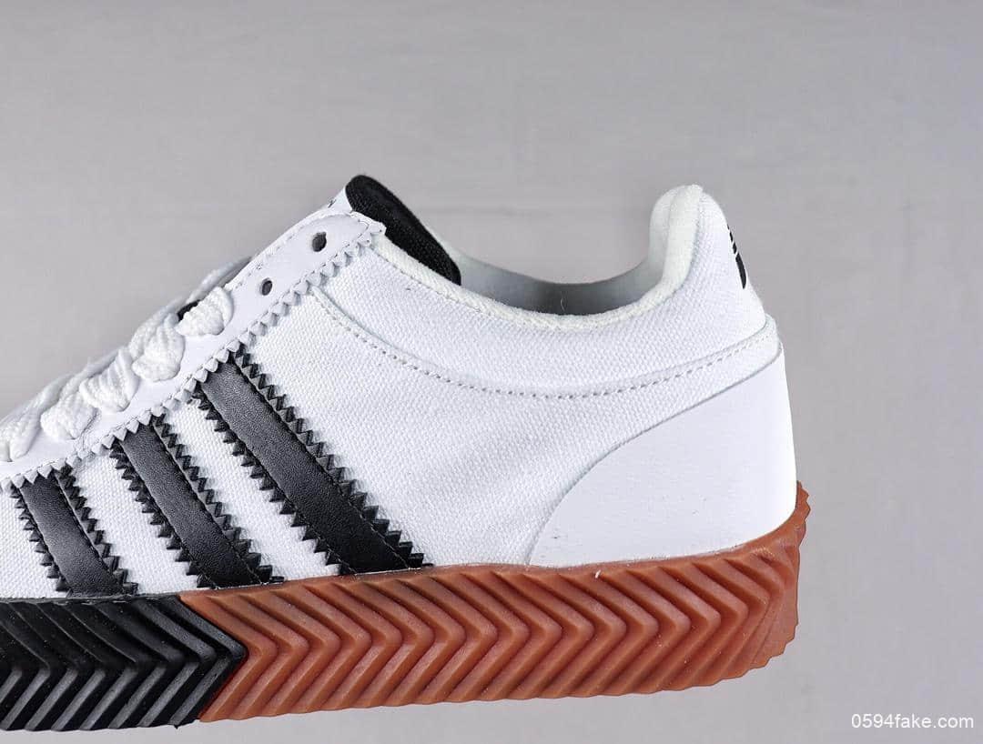 阿迪达斯adidas x AW Skate Super公司级版本休闲板鞋原盒原标高街系列区别市面通货版本 货号:F35295