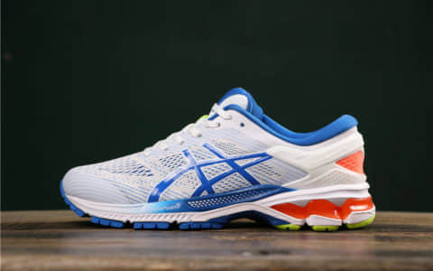 亚瑟士ASICS GEL-KAYANO 26代公司级版本亚瑟士专业缓冲减震跑步鞋 货号:1011A541-100