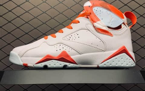 乔丹AIR JORDAN AJ7 TOPAZ MIST纯原版本AJ7糖果白粉女子文化篮球鞋拼接球鞋 货号:442960-104