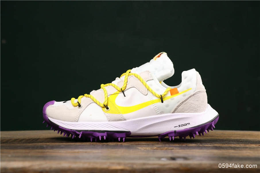 耐克Nike OFF-WHITE x Nike Air Zoom Terra Kiger 5联