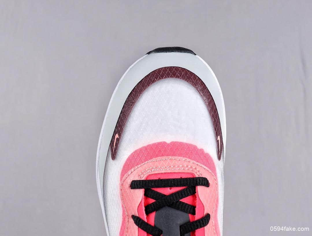 耐克Nike Air Max Dia SE QS艇系列气垫缓震半透明百搭休闲慢跑鞋 货号:AV4146-100
