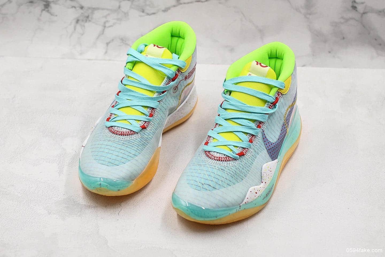 耐克Nike Zoom KD12 EP063m纯原版本杜兰特12代男子实战篮球鞋内置双气垫 货号:CK1195-300