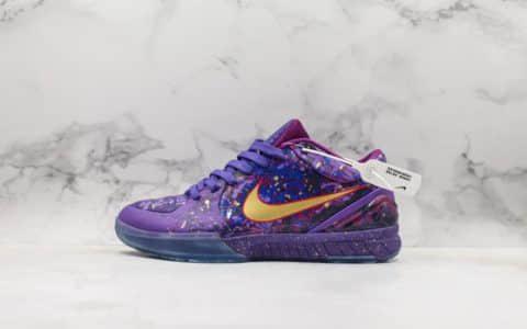 耐克Nike Zoom Kobe IV Prelude 4科比4选秀日ZK4复刻低帮运动篮球鞋公司级版本 货号:639693-500