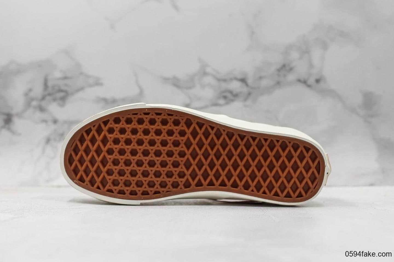 万斯Vans Fear of God真标硫化FOG二代联名梵文配色完美鞋头包边海鸥线原厂鞋盒钢印