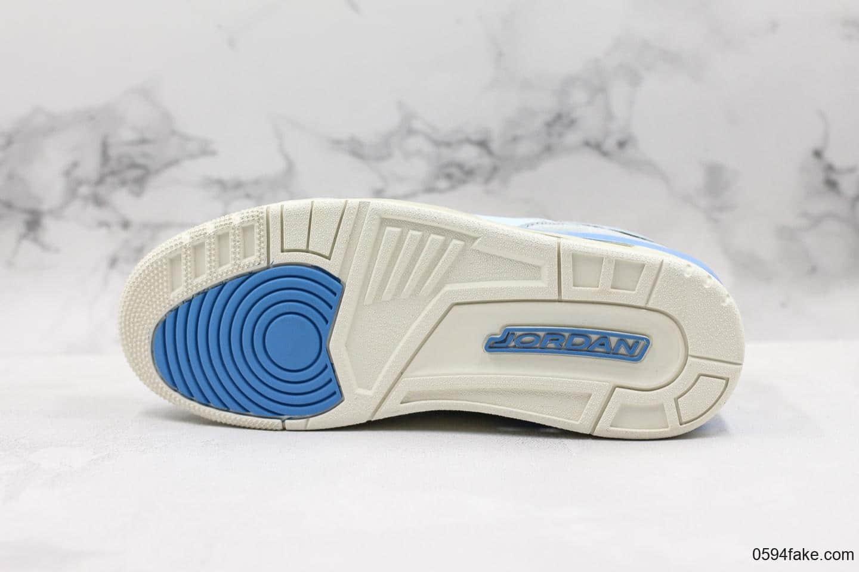 乔丹Jordan Legacy 312 low纯原版本低帮AJ312全新淡蓝配色 货号:CD7069-400