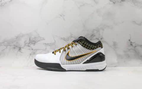 耐克Nike Zoom Kobe 4 Protro科比四代季后赛配色实战篮球鞋OG纯原 市场最高工艺支持实战 货号:AV6339-101