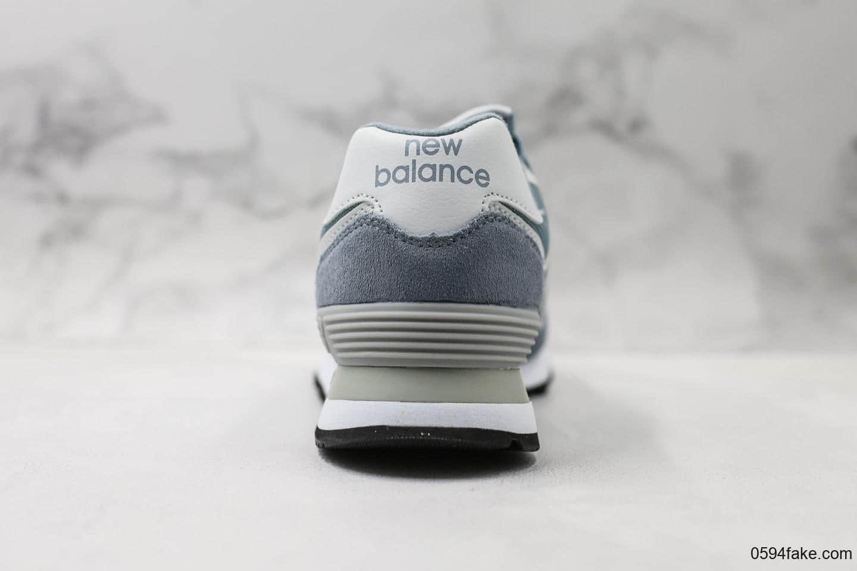 新百伦New Balance 574系列女鞋经典复古休闲鞋运动鞋原盒原标渠道专供 货号:WL574ESK