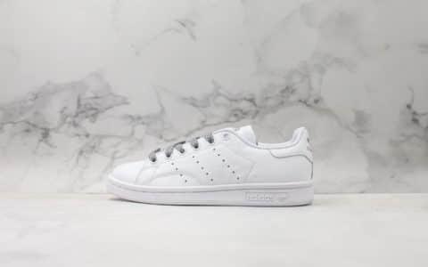 阿迪达斯Adidas stan smith Static纯原版本史密斯满天星3M反光材质原厂高亮鞋带外贸客户指定订单国外限量款 货号:BD7455