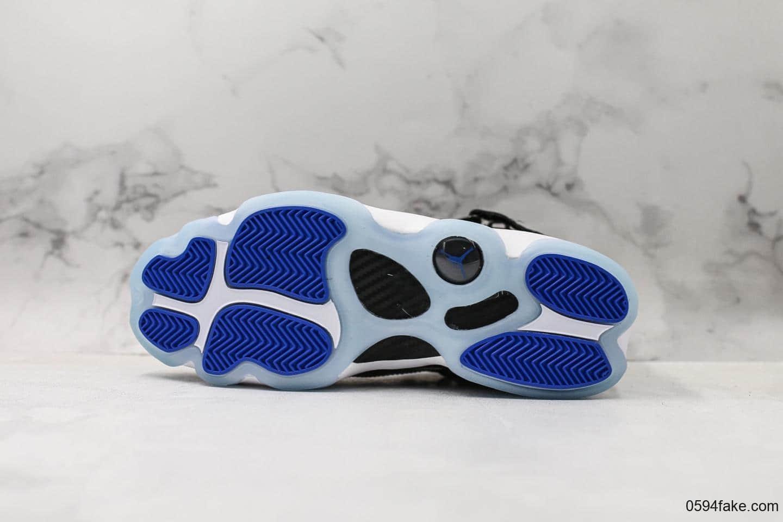 乔丹Air Jordan 6 RIngs纯原复刻AJ六冠王黑白大灌篮新配色原厂碳纤维中底原装真猫眼支持实战 货号:322992-016