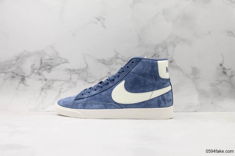 耐克Nike Blazer Mid Vintage Suede公司级版本高帮休闲板鞋结合Zoom Air 缓震配置和柔韧