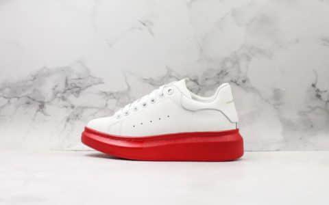 麦昆Alexander Mcqueen 2019纯原版本白面红底新版本材料升级MQ原版一比一鞋底头层拉帕牛皮