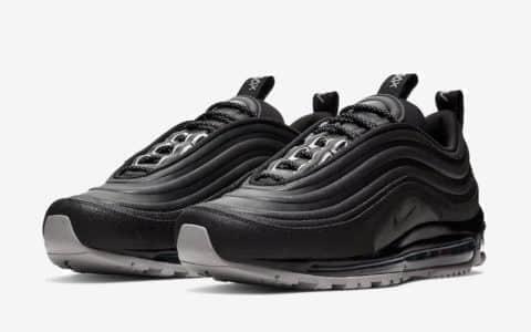 Nike Air Max 97再曝新配色!防水鞋面下雨也不怕! 货号:BQ5615-001