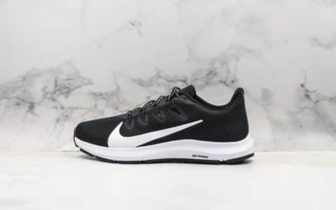 耐克Nike Quest 2.0 DouFA公司级版本登月极致跑鞋二代内置气垫最新科技全掌Phylon泡棉中底 货号:CI3787-002