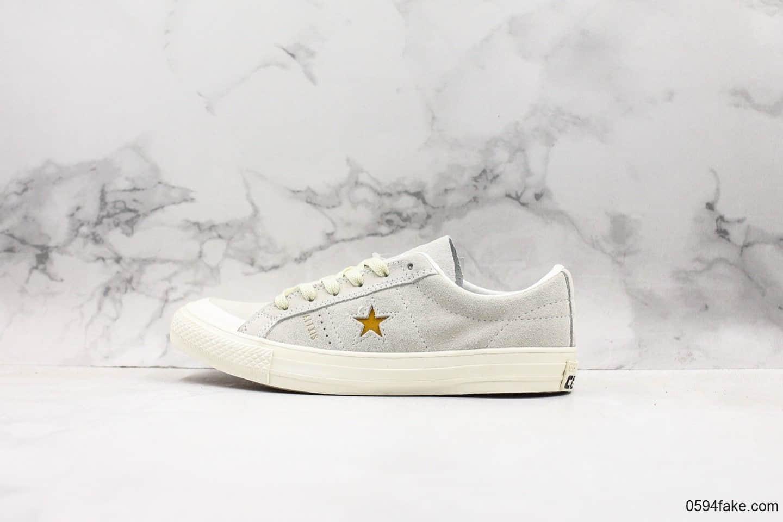 匡威Converse One Star 74 Fragment Navy One Star木村一星新款正确硫化工艺 货号:166401