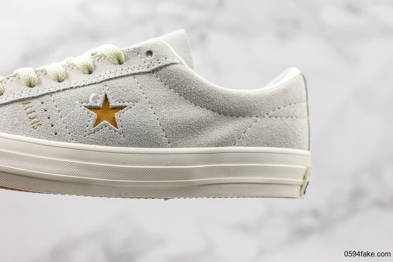 匡威Converse One Star 74 Fragment Navy One Star公司级版本木村一星新款正确硫化工艺 货号:166401C