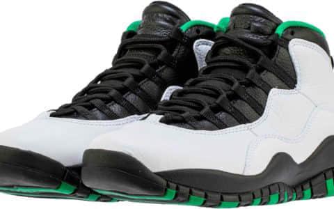 """阔别多年!城市系列西雅图配色回归!Air Jordan 10"""" Seattle""""将于10月19日发售! 货号:310805-137"""