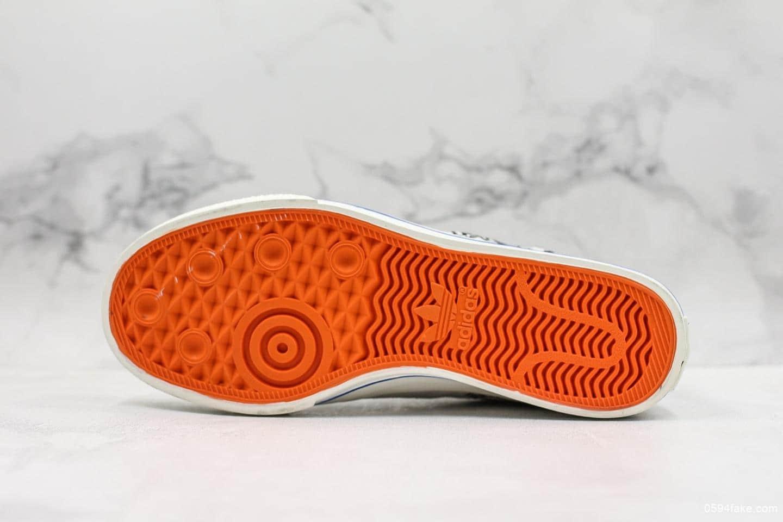 阿迪达斯adidas Keith Haring x Originals Nizza公司级三叶草贪吃蛇涂鸦配色全鞋头层皮制作原盒原标 货号:EE9297