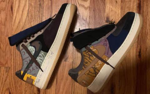 幸运粉丝晒图!我酸了!Travis Scott x Nike Air Force 1 Low全新配色将于今年10月份发售!