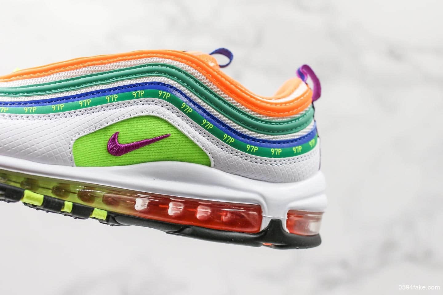 """2019 Nike Air Max 97 """"London Summer of Love"""" CI1504 100 For"""