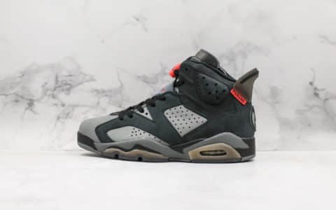 乔丹Air Jordan 6 x PSG大巴黎AJ6纯原版本麂皮材质原楦头原纸板原鞋开模打造区别市面通货版本 货号:CK1229-001