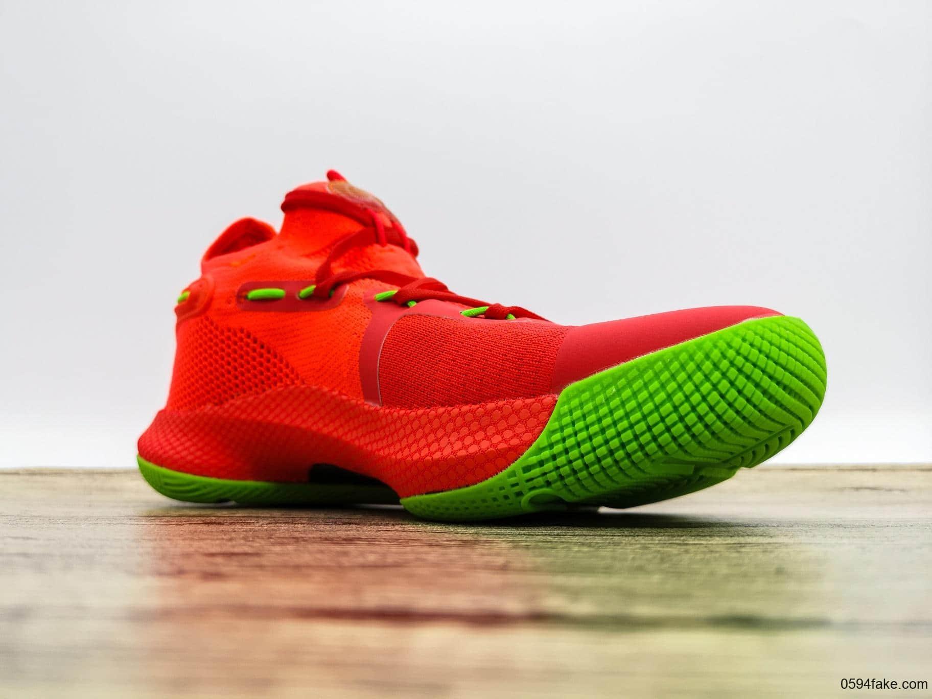 安德玛UA CURRY 6纯原版本库里6代正确卡色正确纹路原档案数据开发原厂减震实战篮球鞋 货号:3020612-004