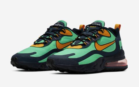 """抢眼撞色!Nike Air Max 270 React""""Electro Green""""将于9月6日发售! 货号:AO4971-300"""