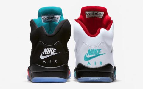 "Air Jordan 5 ""Top 3""配色首度曝光!或将于明年发售"