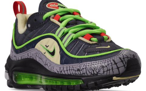 """浓厚万圣节氛围!Nike Air Max 98 """"Halloween""""来袭! 货号:CT1171-001"""