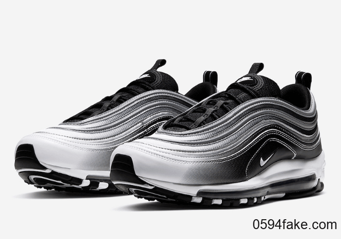Nike Women's Air Max 97 Particle Rose Silver Glitter At0071