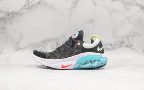 """耐克Nike Joyride Run Flyknit Racer""""Blue""""全新缓震科技跑鞋黑蓝公司级带半码脚感舒适软弹 货号:AQ2730-007"""