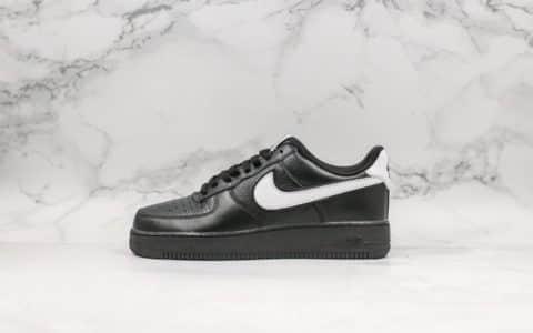 耐克Nike Air Force 1 Low Retro QS FRIDAY纯原版本星期五空军一号黑白原厂头层皮内置气垫区别市面通货版本 货号:CQ0492-001