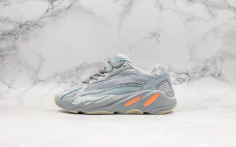阿迪达斯adidas Yeezy Boost 700V2 Inertia纯原版本椰子700玉兔灰配色老爹鞋进口3M反光材质原厂巴斯夫大底 货号:FW2549