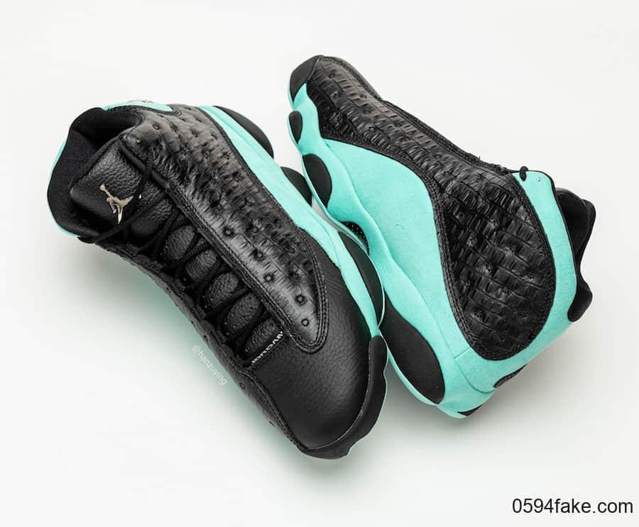 蒂芙尼绿Air Jordan 13发售日期提前!还有最新上脚图和实物图曝光! 货号:414571-030