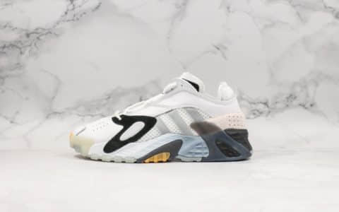 阿迪达斯Adidas streetball简版小椰子700复古老爹鞋休闲鞋白黑灰纯原原鞋开模 货号:EF4960