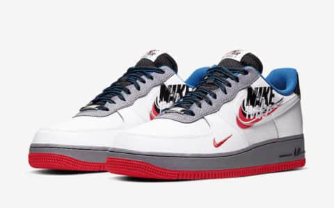 """光是钩子就够你看了!这双Nike Air Force 1"""" Script Swoosh""""你打几分? 货号:CT1620-100"""