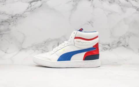 彪马Puma Ralph Sampson Mid OG纯原版本联名签名款男女同款休闲鞋甄选优质皮革鞋面 货号:370847-02