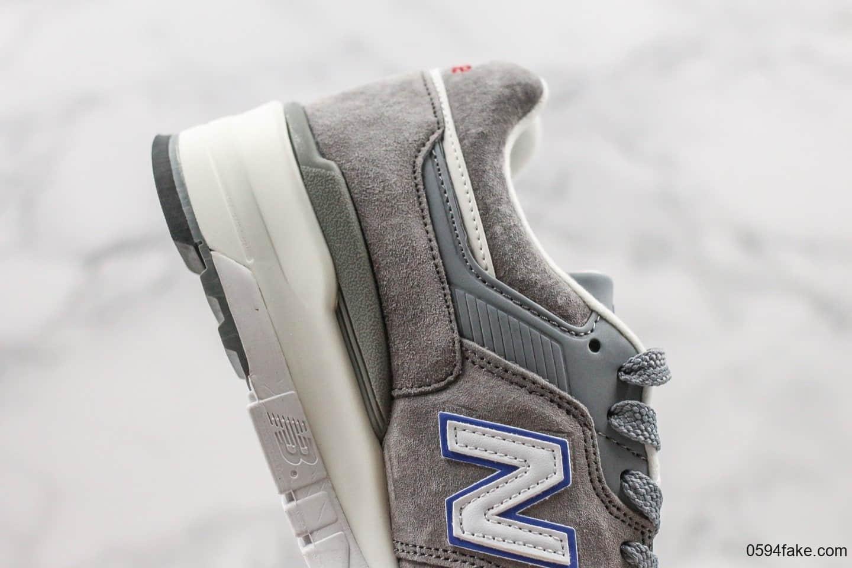 新百伦New Balance 997纯原版本美产灰蓝配色NB997内置缓震芯片完美工艺正确3M反光材料