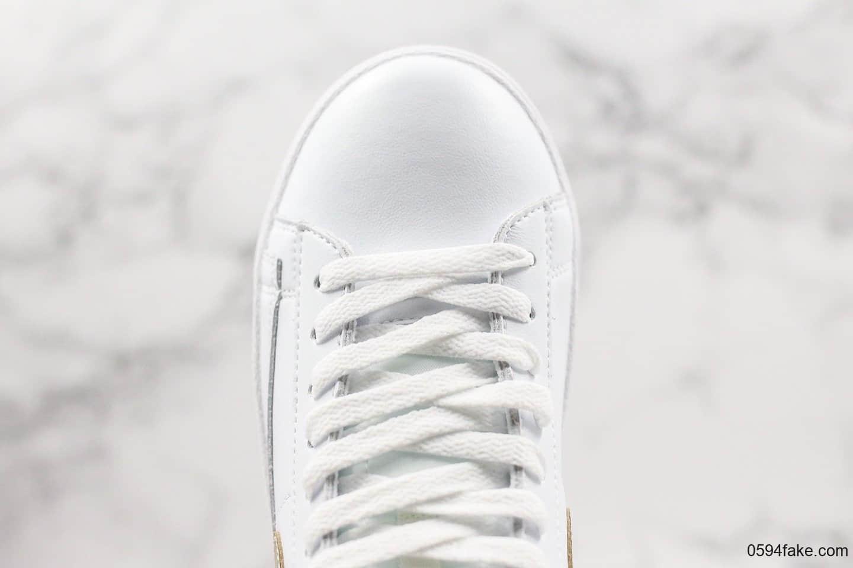 耐克Nike Blazer Mid Vintage Suede公司级版本高帮开拓者内置ZOOM气垫搭配橡胶外底 货号:917862-103